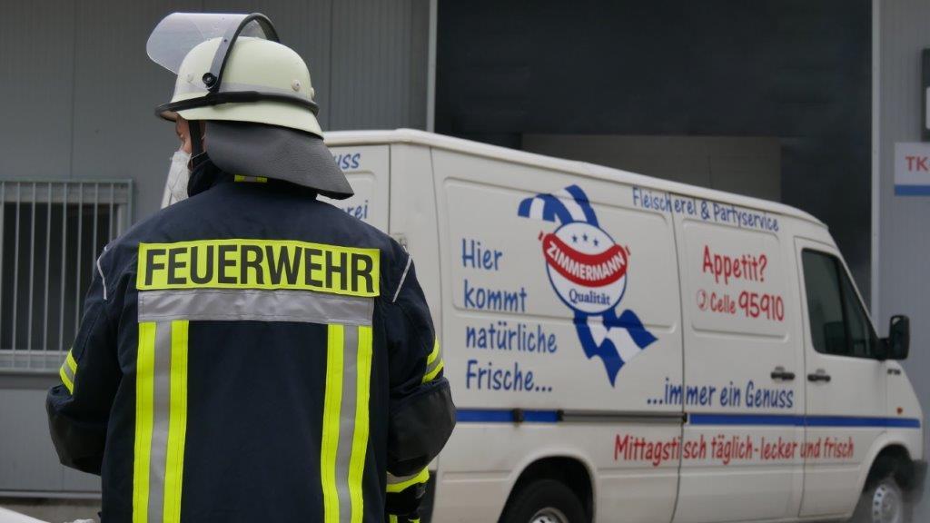 Westerceller Feuerwehr übt den Ernstfall in Fleischereibetrieb